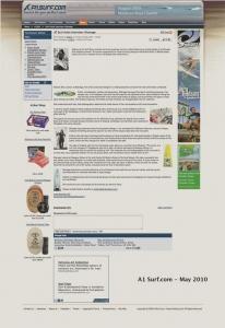 A1 surf magazine khanage article