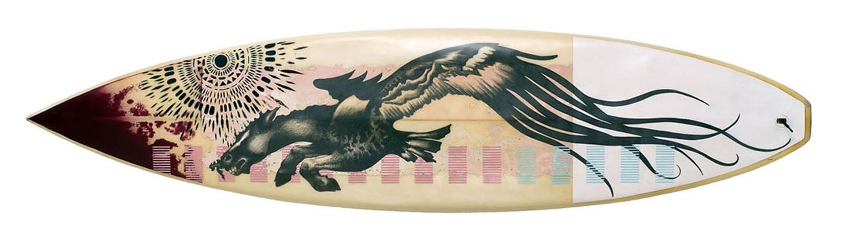 pegasus surfboard by khanage