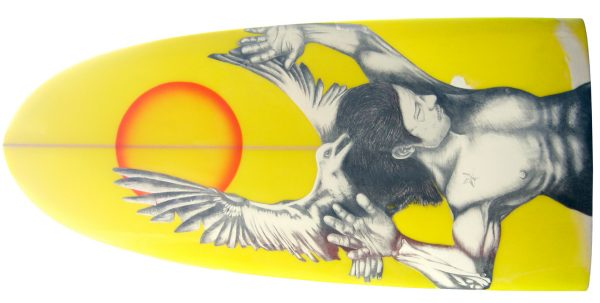 Drowning Sailor 2 surfboard by Total Khanage